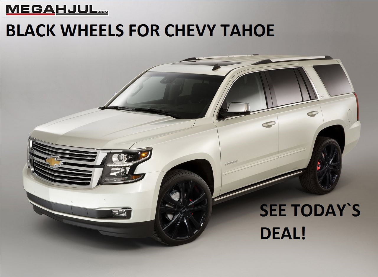 TIRE AND WHEEL PACKAGES FOR CHEVY TAHOE, SUBURBAN AND SILVERADO