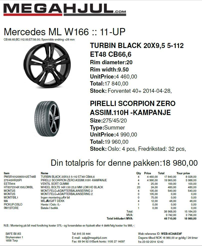 275 45r20 Pirelli Nokian Continental Hankook Og