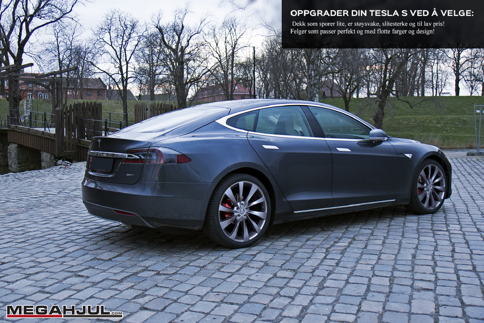 PH turbin2 gunmetall til Tesla S