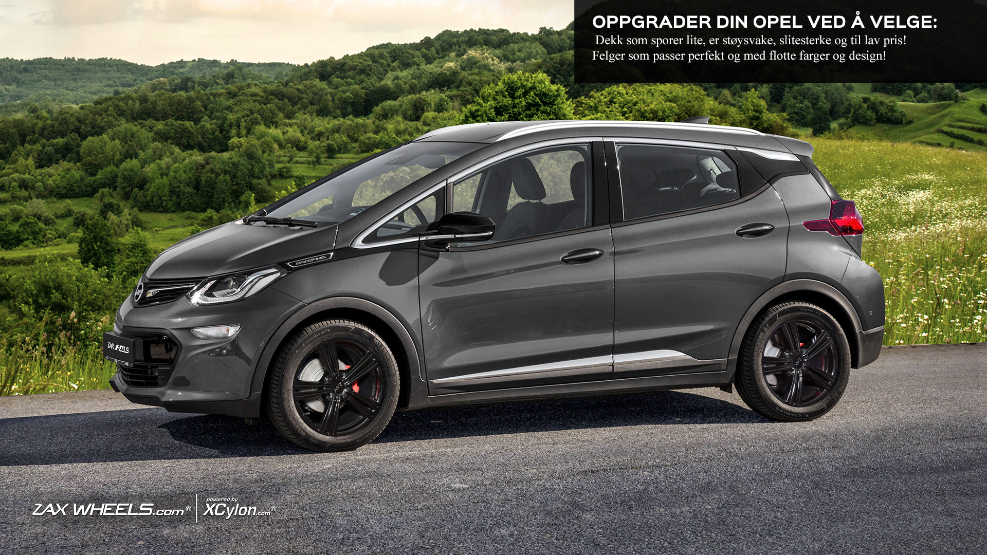 Pris Opel Ampera