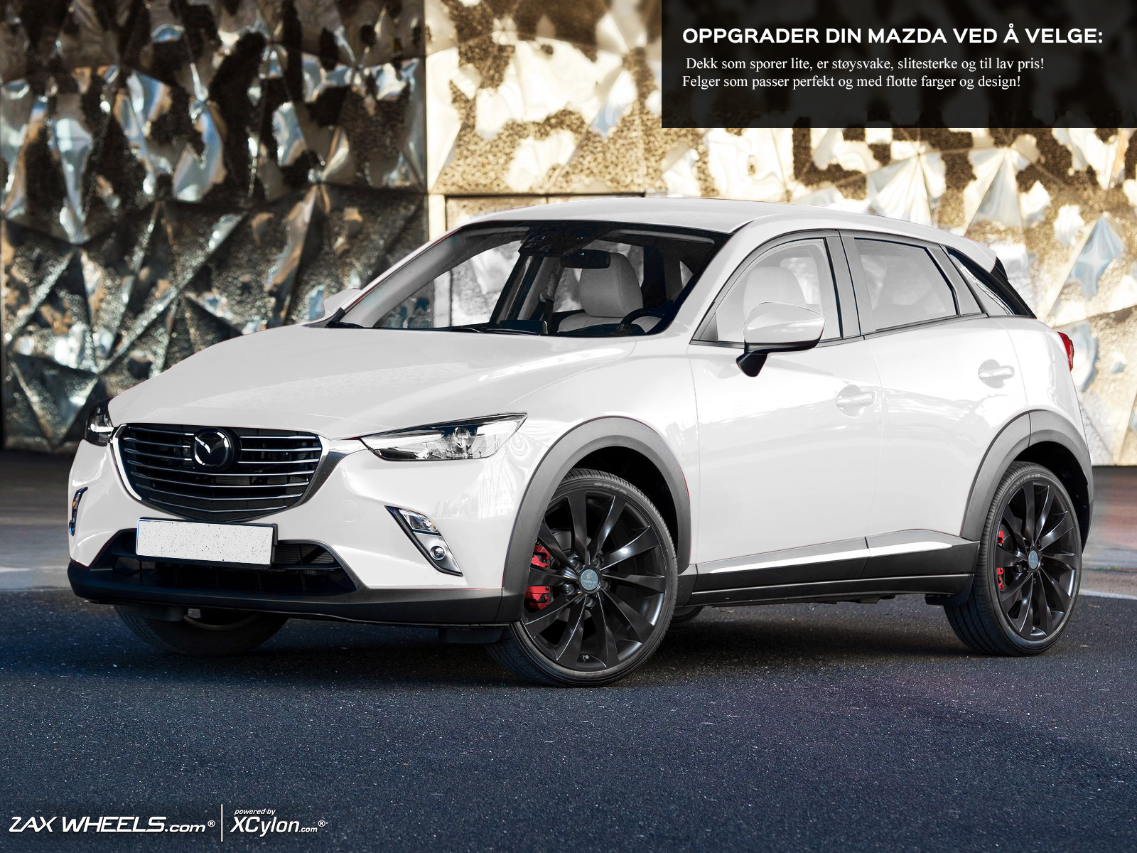 Rims And Tires For Mazda Cx 3 15 Up Megahjul