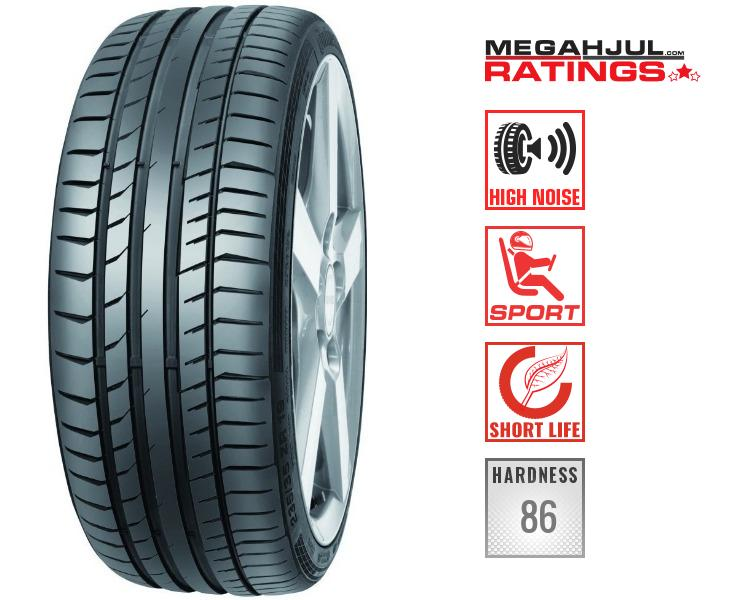 245/35R21 CONTINENTAL SPORTCONTACT 5P 96Y - SHORT LIFE