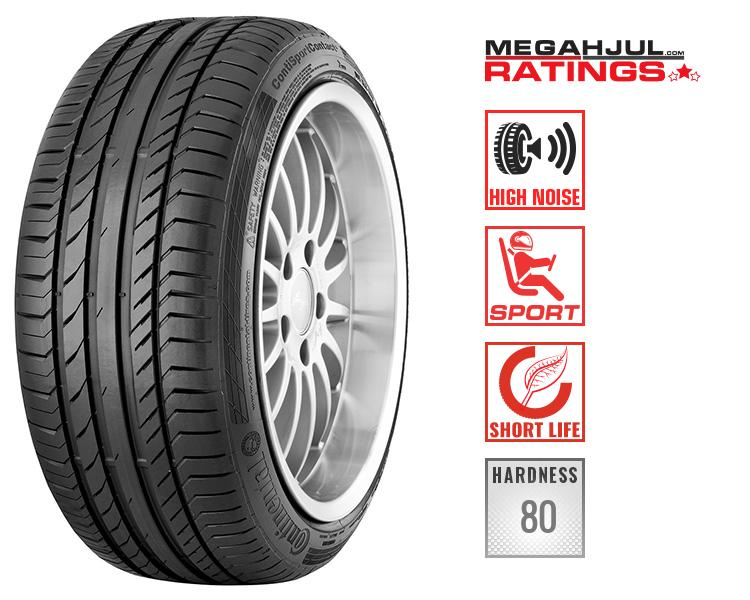 245/45R19 CONTINENTAL SPORTCONTACT 5 102W