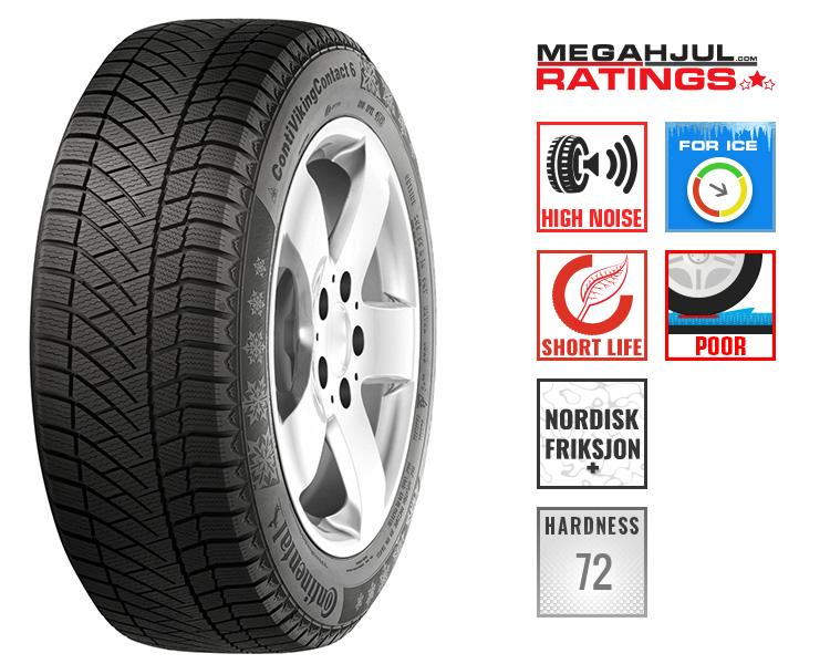 245/45R19 CONTINENTAL CONTIVIKINGCONTACT 6 102T TEST