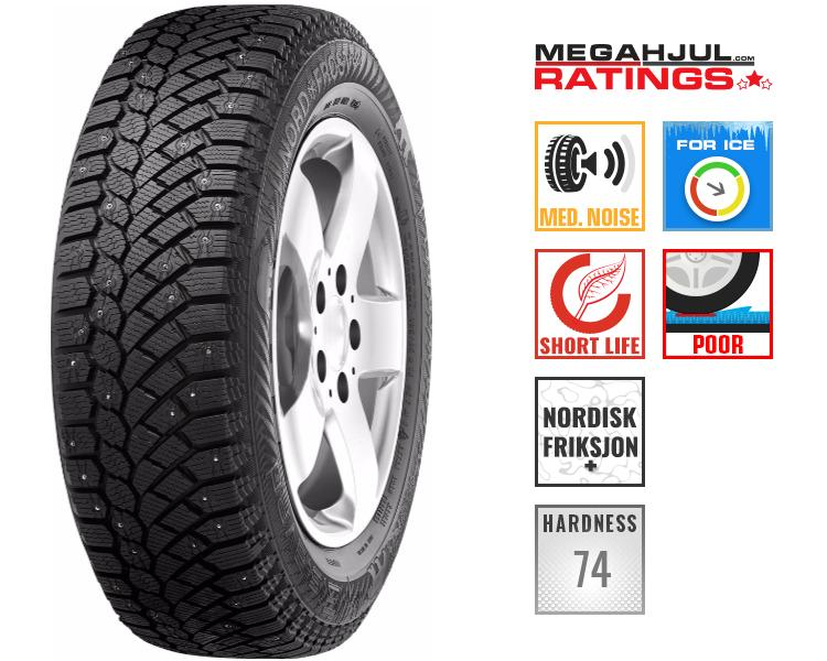 245/45R19 GISLAVED NORDFROST 200 245/45 R19 102T - STUDS