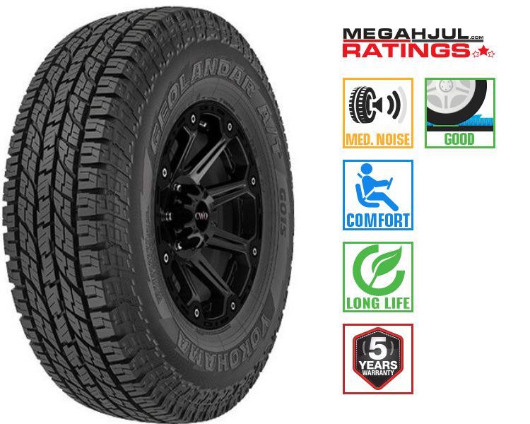 315 70r17 summer tire yokohama geolandar a t g015 121s. Black Bedroom Furniture Sets. Home Design Ideas