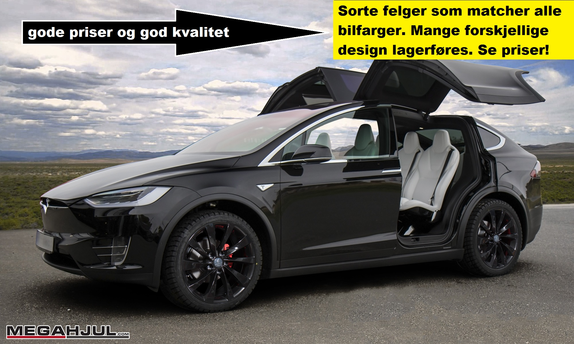 Tesla model x pris